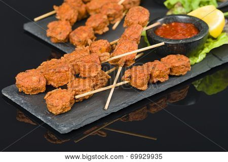 Spicy Chicken Satay
