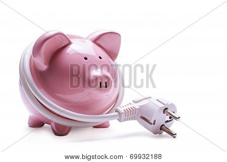Online Banking And Savings Concept
