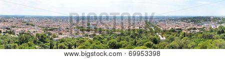 Panorama Of Nimes