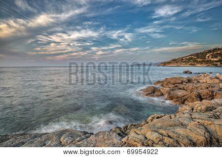 Coast Of Balagne Region Of Corsica