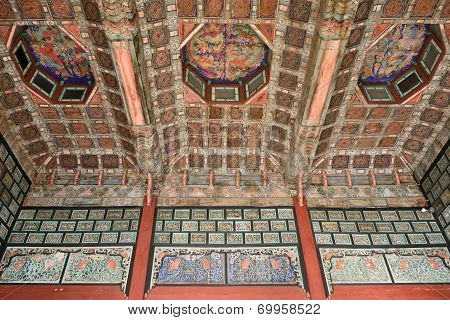 Interior Of Jibokjae In Gyeongbok Palace In Seoul