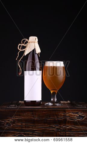 Bottle Of Craft Beer