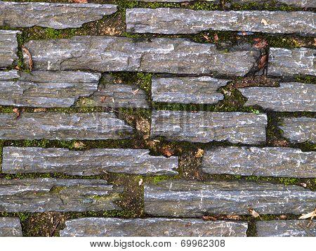 Stone Pavers Background