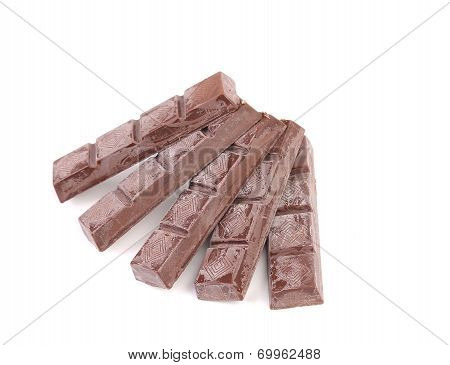 Fan of chocolate bars.