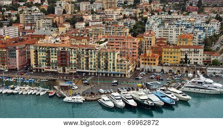City Of Nice - Panoramic View Of Port De Nice