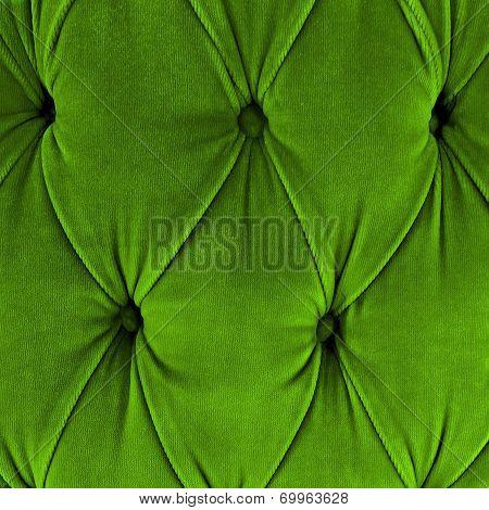 Green Sofa Upholstery Velvet Fabric