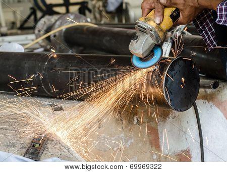 Blacksmith Is Working