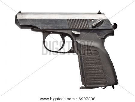 Black Vintage Pistol