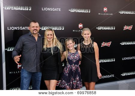 LOS ANGELES - AUG 11:  Chuck Liddell at the