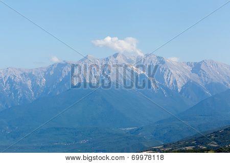 Olympus Mountain In Greece