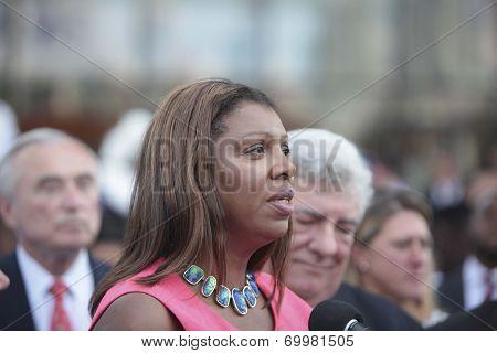 Leticia James, NYC Public Advocate
