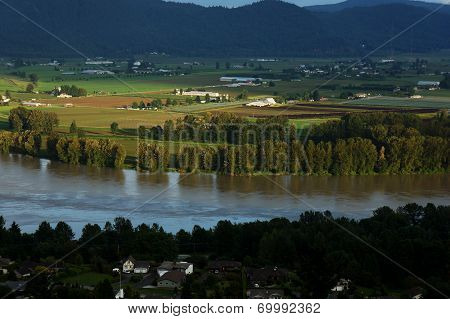 Valley and Fraser River View