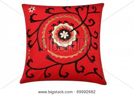 Pillow. Isolated against white background.