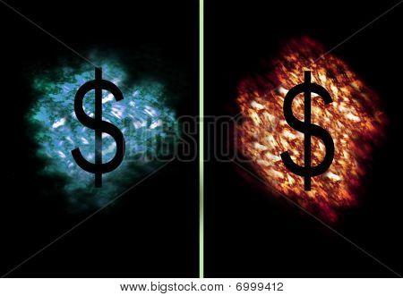 Ice Fire Dollar
