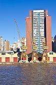 picture of gaucho  - Porto Alegre Port view  - JPG