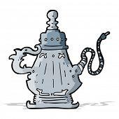 picture of hookah  - cartoon hookah - JPG
