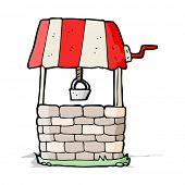 picture of wishing-well  - cartoon wishing well - JPG
