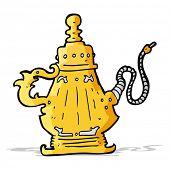 stock photo of hookah  - cartoon hookah - JPG