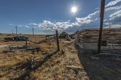 stock photo of cisco  - Abandoned real estate in Ghost Town of Cisco Utah