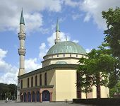 The Mevlana Mosque poster