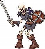 pic of skeleton  - Skeleton warrior - JPG
