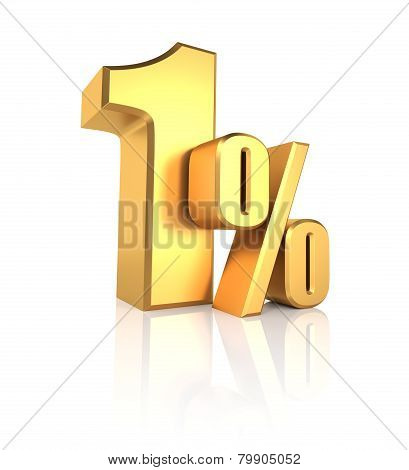 Gold 1 Percent