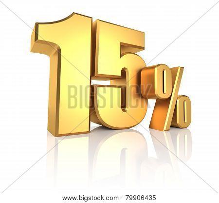 Gold 15 Percent