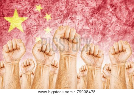 China Labour Movement, Workers Union Strike