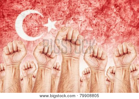 Turkey Labour Movement, Workers Union Strike