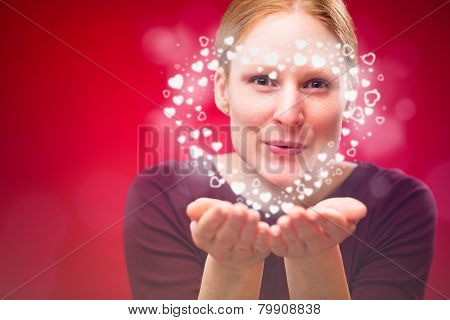 Valentine's Day Kiss - A Heart