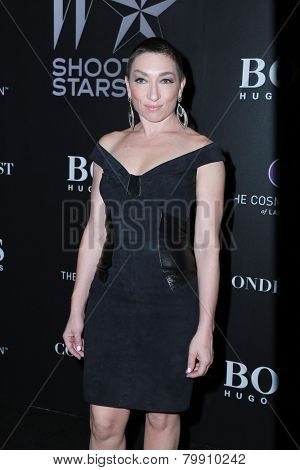 LOS ANGELES - JAN 9:  Naomi Grossman at the W Magazine`s Shooting Stars Exhibit at the Old May Company Building on January 9, 2015 in Los Angeles, CA