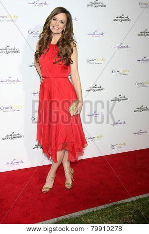 LOS ANGELES - JAN 8:  Rachel Boston at the Hallmark TCA Party at a Tournament House on January 8, 2014 in Pasadena, CA
