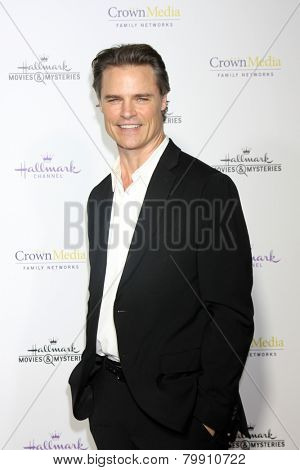 LOS ANGELES - JAN 8:  Dylan Neal at the Hallmark TCA Party at a Tournament House on January 8, 2014 in Pasadena, CA
