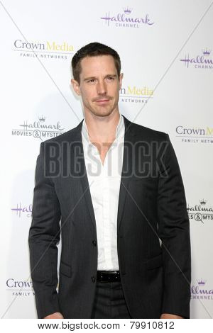 LOS ANGELES - JAN 8:  Jason Dohring at the Hallmark TCA Party at a Tournament House on January 8, 2014 in Pasadena, CA