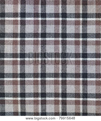 close - up check shirt fabric pattern