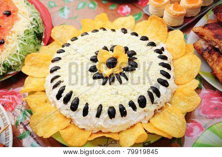 Sunflower Dish