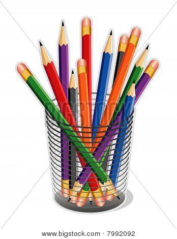 Multicolor Lead Pencils