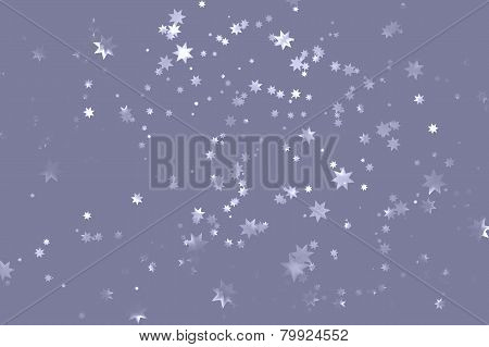 grey vector starry sky