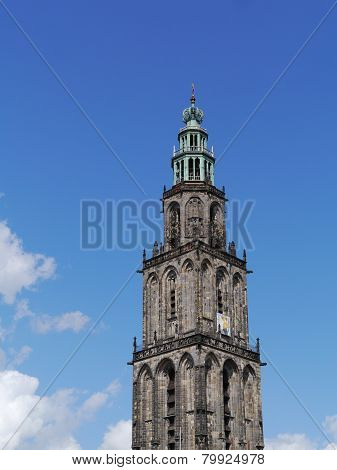 The Martini tower in Groningen