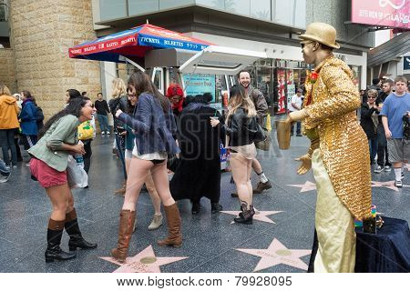 Women Without Pants In Hollywood During The