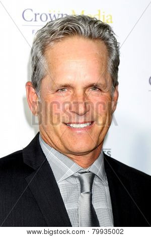LOS ANGELES - JAN 8:  Gregory Harrison at the Hallmark TCA Party at a Tournament House on January 8, 2014 in Pasadena, CA