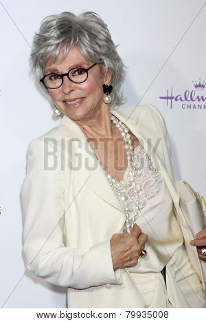 LOS ANGELES - JAN 8:  Rita Moreno at the Hallmark TCA Party at a Tournament House on January 8, 2014 in Pasadena, CA