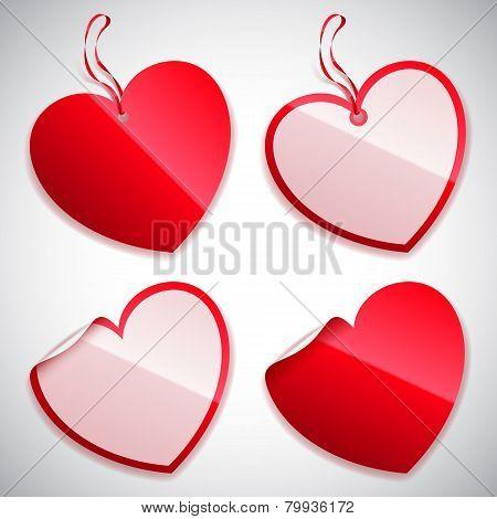 Heart Shaped Tags