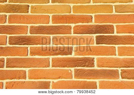 Brown Cladding Tiles Imitating Bricks