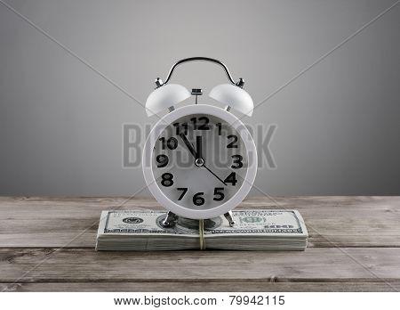 Time  Money Business Concept