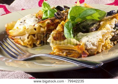 Vegetarian Lasagna Dinner