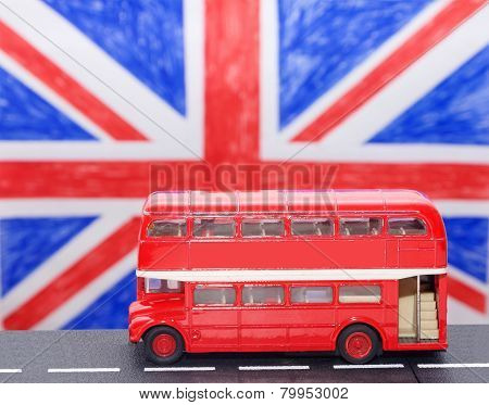 A Red Double Decker Bus