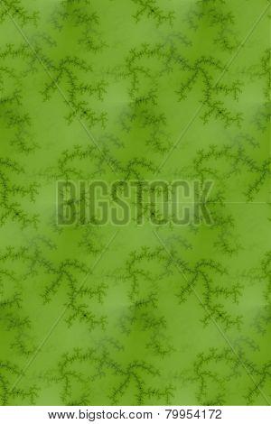 Bright Green Fractal