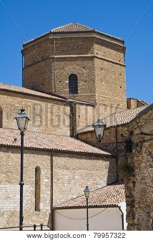 Cathedral Church of Acerenza. Basilicata. Southern Italy.