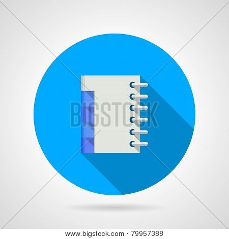 Flat vector icon for organizer